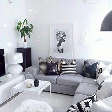 Mały salon w wersji scandi!...