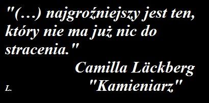 """""""KAMIENIARZ"""" - Camilla Läckberg"""