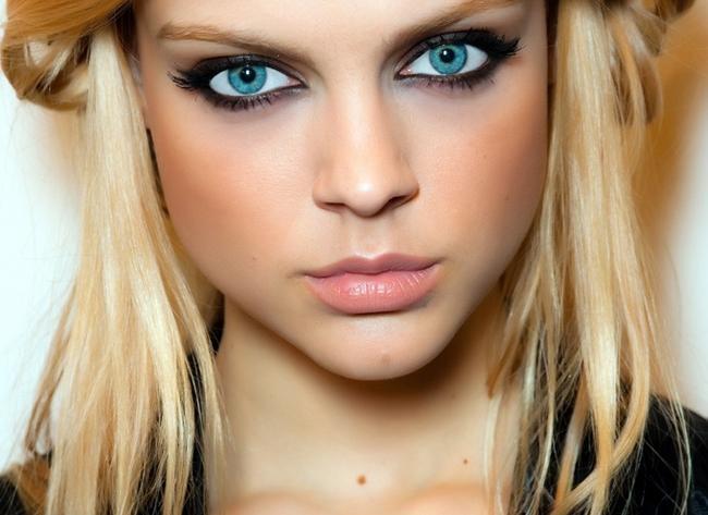 Oczy Niebieskie Na Makijaż Oczu Zszywkapl