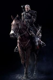 Geralt i Płotka