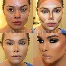 cieniowanie twarzy