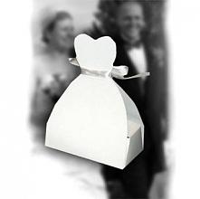 Pudełeczka w kształcie sukn...