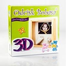 Witajcie,   Dziś Odcisk Bobasa tym razem w 3D w zestawie z Ramką, pozwalający...