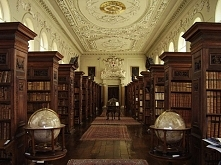 Beautiful Libraries and Bookshops...Oxford University Queen's College Library...