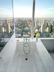 łazienka z widokiem ;)