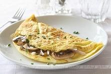 Omlet z szynką i pieczarkami Marcina