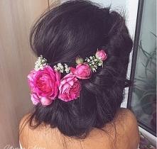 Pomysł na letnie upięcie długich włosów :)