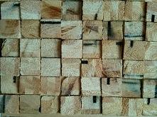 mozaika z kwadratowych drewnianych klocków. Zapraszam do obserwowania mojego ...
