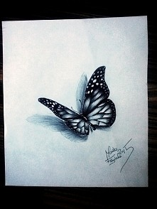 mój wzór na tatuaż który niedługo wykonam sobie na udzie. :-) motylek zrobion...