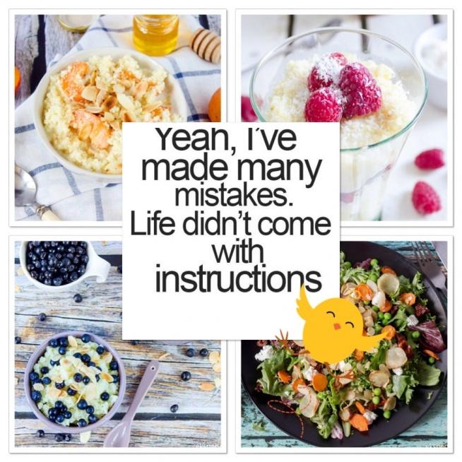 Bo my w życiu potrzebujemy różnorodności, także różnorodności na talerzu Warto jeść zdrowo, warto zwracać uwagę na to co jemy, ale bez skrajności. Ważny jest bilans energetyczny- dostarczajmy sobie tyle kalorii ile potrzebuje nasz organizm, a także to co on nam podpowiada – nawet jeśli czasem mamy nieodpartą ochotę na batonika, to pozwólmy sobie na niego- raz na jakiś czas możemy!