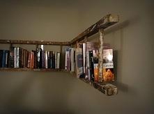 Drabina - półka na książki