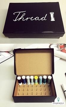 pudełko na nici