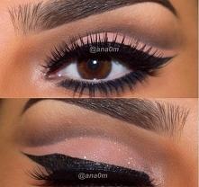 Makijaż wieczorowy oczu :)