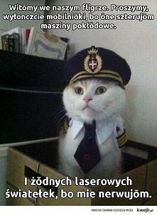 Słuchajcie się kapitana !