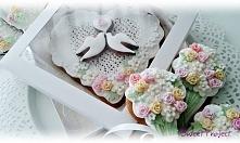 Podziękowania dla gości lub jako dekoracja weselnego stołu.