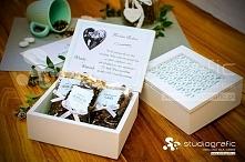 Elegancka drewniana szkatułka, która oczaruje i zabierze w świat wspomnień ob...