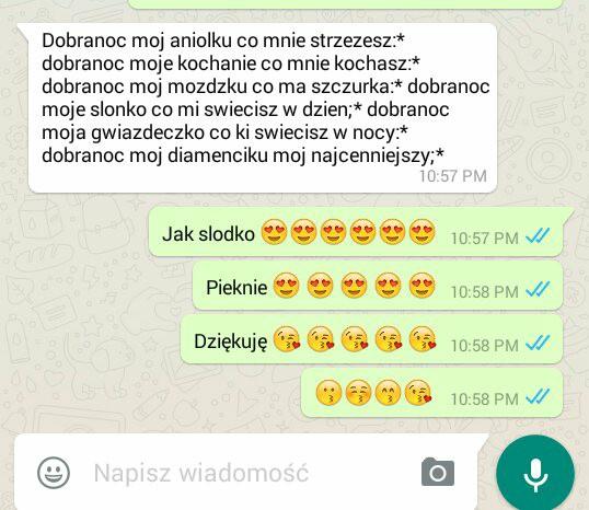 Boyfriend Sms Dobranoc Love Couple Na Ulubione Zszywkapl