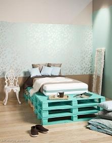 Łóżko na paletach *.*