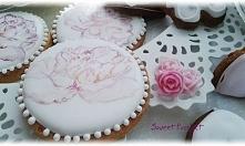 Ciasteczka w całości ręcznie malowane i dekorowane. klikając z zdjęcie, zobac...