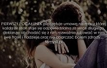 Pierwszy pocałunek zawsze jest magiczny... :)