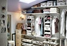 Garderoba i wykorzystanie pustych pudełek
