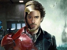 Robert Downey Jr jako Iron Man i Scherlock Holms ♥