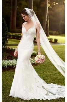 Stella York Sparkling Train Wedding Dress Style 6142