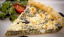 Tarta szpinakowo-serowa
