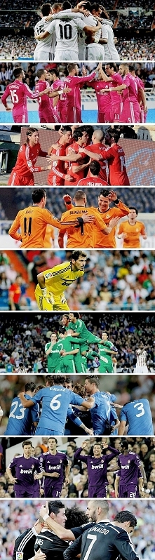 Real Madrid in colours