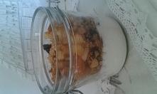 Granola morelowo-śliwkowa przepis myownplasures.blogspot.com