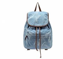 Jeansowy Plecak Vintage