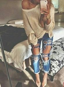 Beż,jeans,nude,