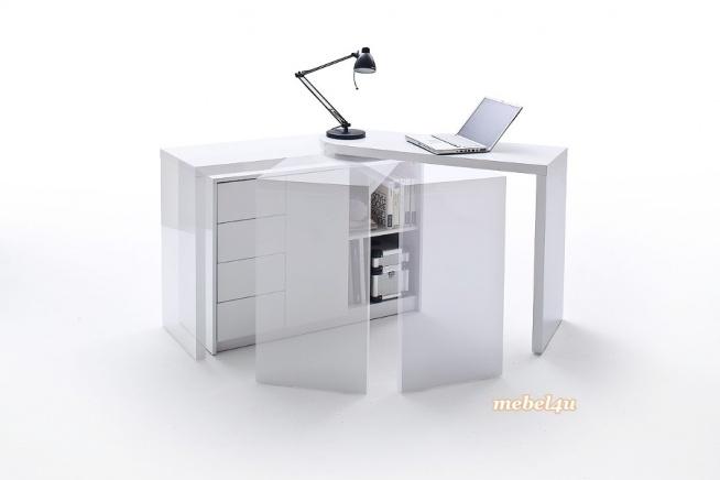 Biurko i komoda w jednym? Masz mało miejsca a nie chcesz rezygnować z biurka? Nie ma problemu, rozwiązaniem jest biurko ruchome MATT.