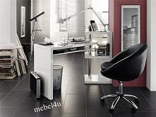 Biurko ruchome MATI to idealne rozwiązanie do niewielkich pomieszczeń.