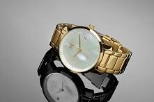 Levvo.eu - piękny złoty, damski zegarek MVMT