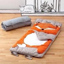 Śpiworek z liskiem :)