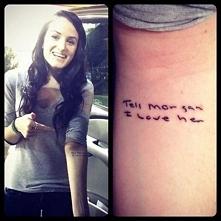 Najbardziej wzruszający tatuaż na świecie…