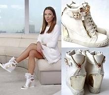 sneakersy w stylu Ewy Chodakowskiej w cenie 72,90 w sklepie LadyButik na alle...