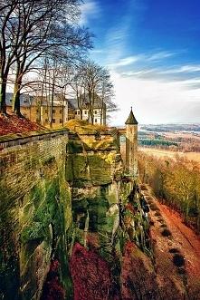 Twierdza Königstein, Saksonia, Niemcy
