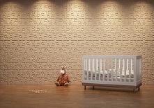 Pokój dziecka, sypialnia, salon. Panele 3D w każdym pomieszczeniu będą się pr...