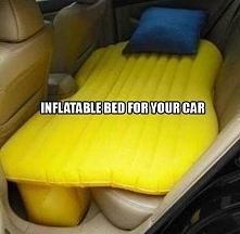 Nigdy wcześniej spanie (ewentualnie seks :p) w samochodzie nie było tak prost...
