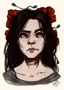 Moj autoportret :)  Zapraszam na fanpage na facebooku- Lulu Art :)