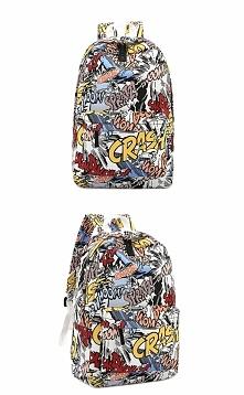 Plecak komiks Super plecak w komiksowy motyw. Idealny dla chłopaka i dziewczy...