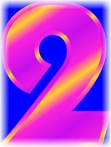 Numerologia - liczba dwa - sprawdź na blogu co to oznacza...