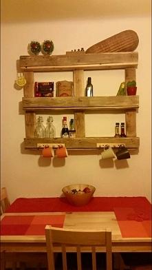 #diy#europaleta#drugie zycie rzeczy#kuchnia#polka
