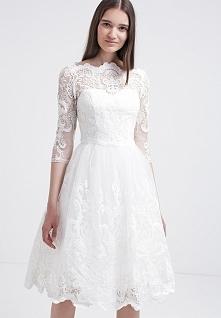 Chi Chi London Sukienka koktajlowa - white
