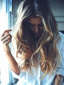 piękne włosy. ja Wy dbacie o swoje? :) ja używam oleju kokosowego i masek