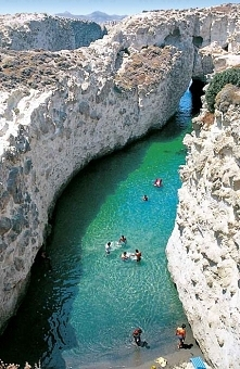 Floating to the Sea, Papafragas - Greece