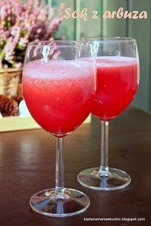 Sok z arbuza Prosty, smaczny i bardzo orzeźwiający sok :) Idealny na imprezy,...