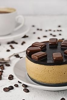 deser kawowy spód: 1 łyżka ...